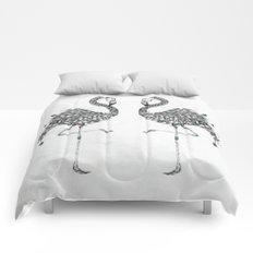 Poetic Flamingo Comforters