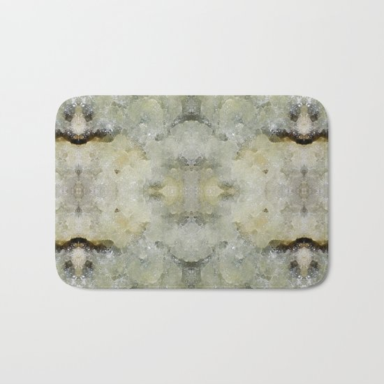 Abstract marble pattern Bath Mat