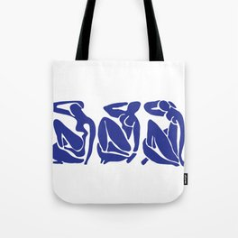 Blue Matisse Tote Bag