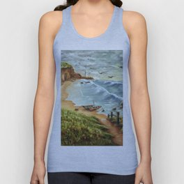 Strumble Head, Pembrokeshire Unisex Tank Top