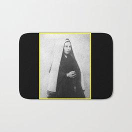 Billard Perrin - Portrait of Bernadette Soubirous 2 Bath Mat