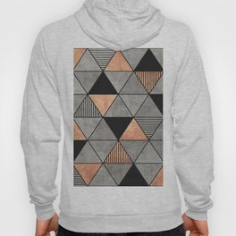 Concrete and Copper Triangles 2 Hoody