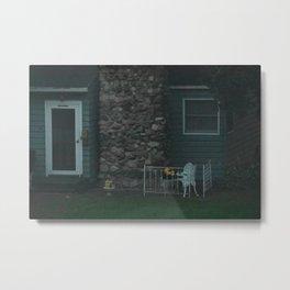Little House Across the Street Metal Print