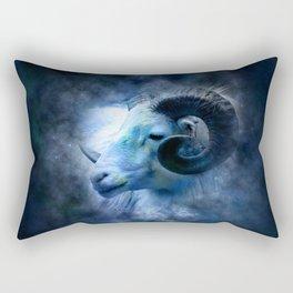 Ram in the Stars (Aries) Rectangular Pillow