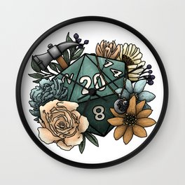 Cleric Class D20 - Tabletop Gaming Dice Wall Clock