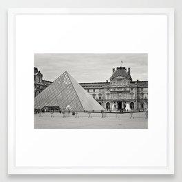 The Louvre Framed Art Print