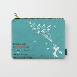 LITTLE PRINCE -Le petit prince- art poster Carry-All Pouch