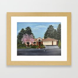A Very, Very Fine House--With One Cat in the Street? Framed Art Print