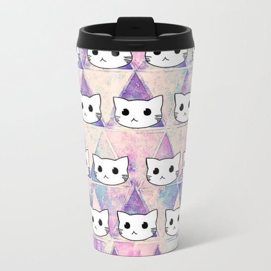 cats-396 Metal Travel Mug