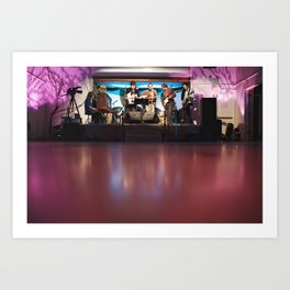 woods band Art Print