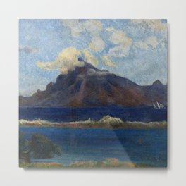 "Paul Gauguin ""Paysage de Te vaa"" Metal Print"