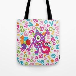 Birthday Monsters 5th Birthday Tote Bag