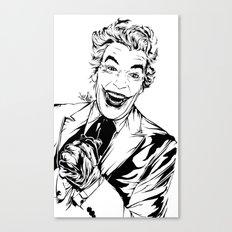 Joker On You Canvas Print