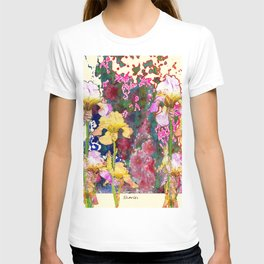 Decorative Yellow & Pink Spring T-shirt