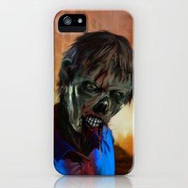 Zombie Cop iPhone Case