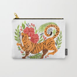 Tiger jungle heart Carry-All Pouch