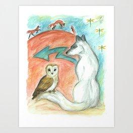 Dreamkeepers Art Print