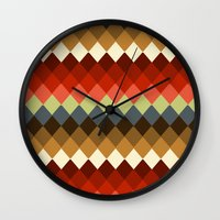 spice Wall Clocks featuring Spice by Moki