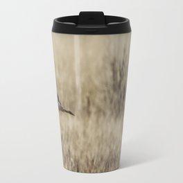 Northern Harrier Hunting, No. 3 Travel Mug
