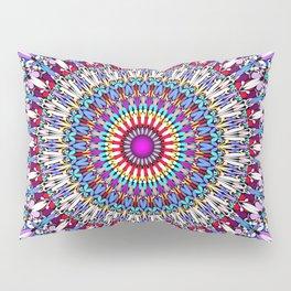 Fantasy Flower Garden Mandala Pillow Sham