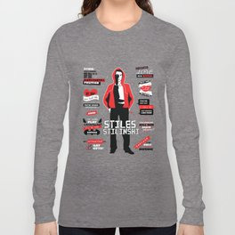 Stiles Stilinski Quotes Teen Wolf Long Sleeve T-shirt