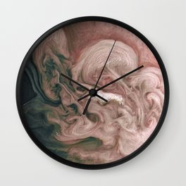 Rose-Colored Jupiter Wall Clock