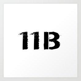 11B Infantryman Art Print