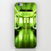 subway iPhone & iPod Skins featuring Subway by Jacquie Fonseca
