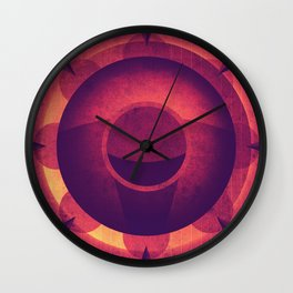 Venus - Lava Domes Wall Clock