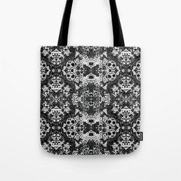 Pagan Seasons in Black Tote Bag