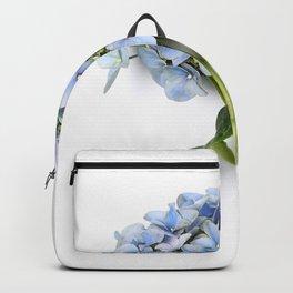 Blue hydrangea flowers Backpack