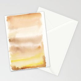 180815 Watercolor Rothko Inspired 2| Colorful Abstract | Modern Watercolor Art Stationery Cards