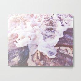 Seafoam / Beach Photography Metal Print