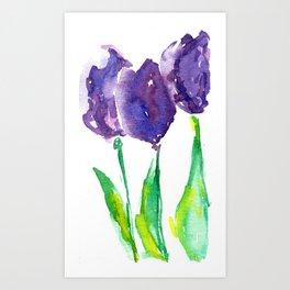 flower X Art Print