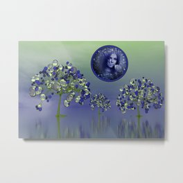 nature is precious and time is running out Metal Print