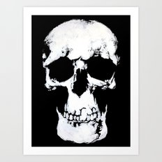 Sherlock Why Do You Have a Skull on Your Wall? Art Print