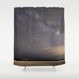 Shooting stars and the Milkyway Shower Curtain