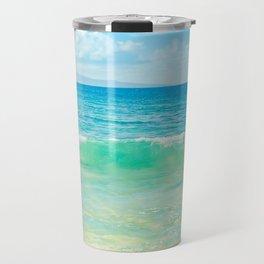 Ocean Blue Beach Dreams Travel Mug