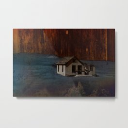 The Surface of Solitude-Hardship Metal Print