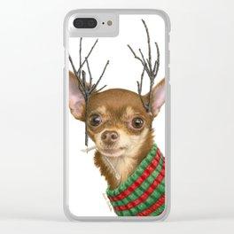 What Do You Mean Santa's Got Enough Reindeer? Clear iPhone Case