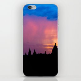 Sunset in Bagan, Myanmar iPhone Skin