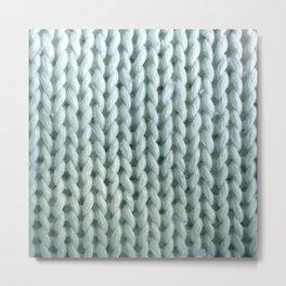 eau de knitwit Metal Print