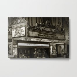Reminiscing In An Old Town  Metal Print