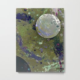 Dust 04 - Post Biological Universe Metal Print