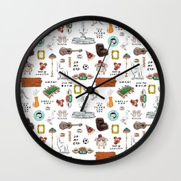 Friends TV Show Tribute Wall Clock