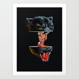 Panther Art Print