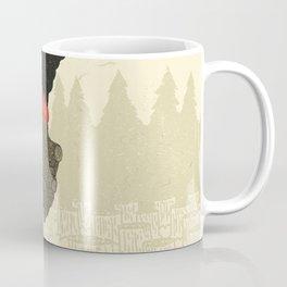 Endure Burning - Viktor Frankl Quote - wood heart Coffee Mug