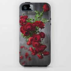 Red, Red Ranunculus Tough Case iPhone (5, 5s)