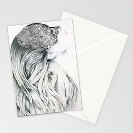 Lola - the intuitive lover Stationery Cards