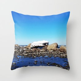 Stranded Iceberg Throw Pillow